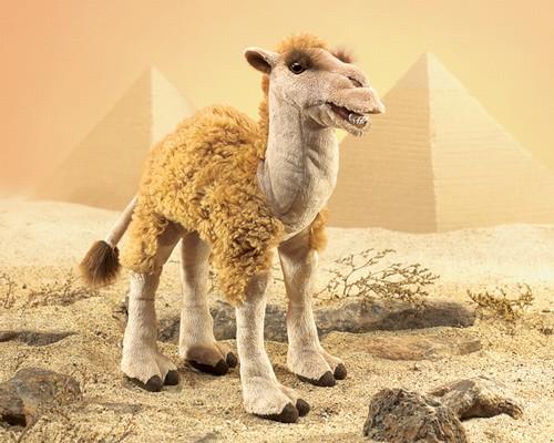 folkmanis Camel puppet