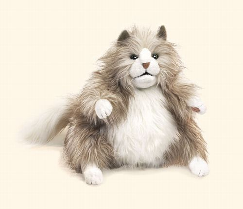 folkmanis Cat Fluffy puppet