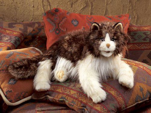folkmanis Cat Ragdoll puppet