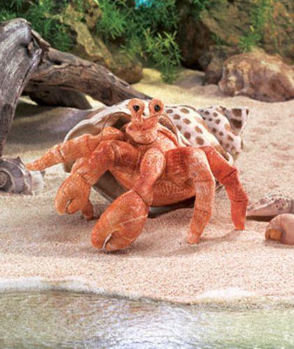 folkmanis Crab Hermit puppet