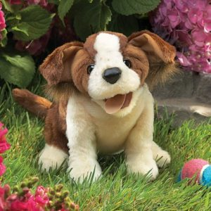 folkmanis Dog Lucky puppet
