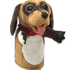 folkmanis Dog Stage Puppet puppet