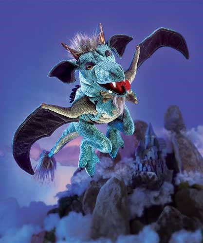 folkmanis Dragon Sky puppet