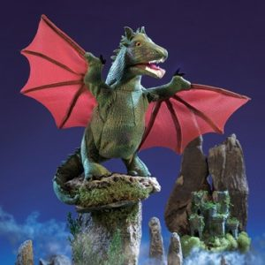 folkmanis Dragon Winged puppet