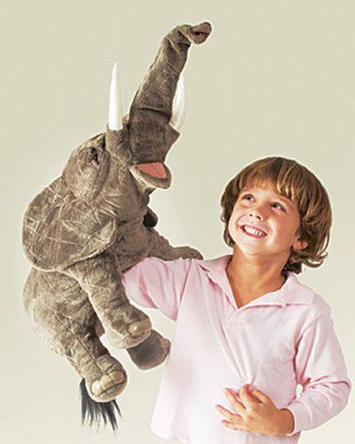 folkmanis Elephant puppet