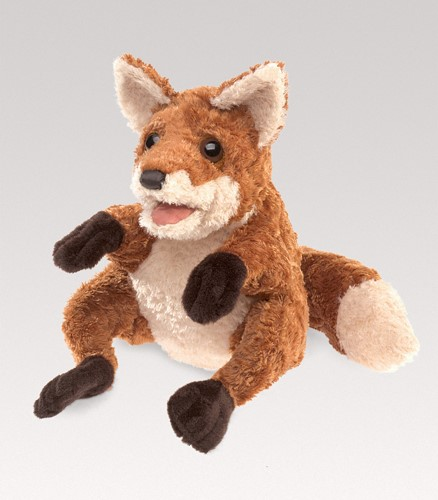 folkmanis Fox Crafty puppet