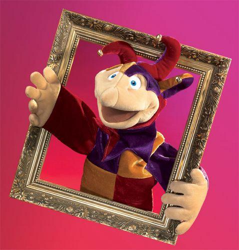 folkmanis Jester Yorick puppet