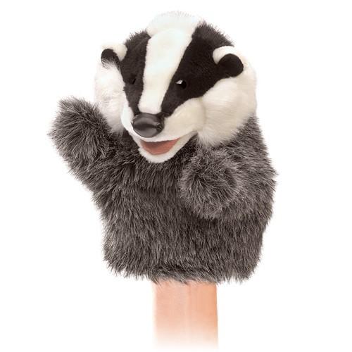 folkmanis Little Badger puppet