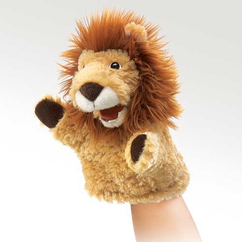 folkmanis Little Lion puppet