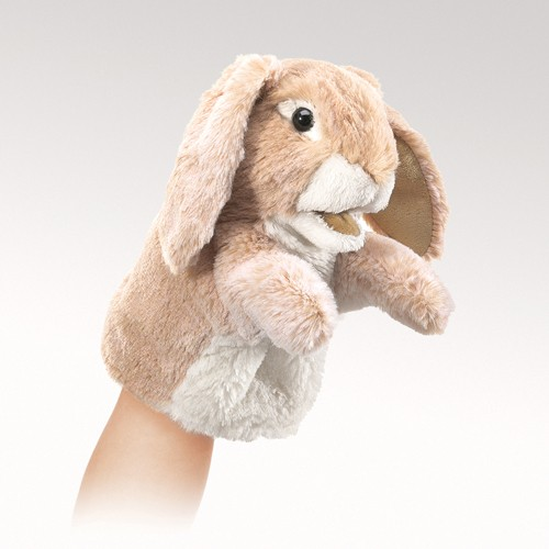 folkmanis Little Rabbit Lop puppet