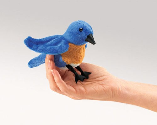 folkmanis Mini Bluebird puppet