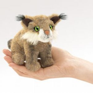 folkmanis Mini Bobcat puppet
