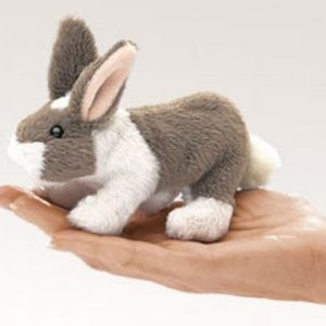 folkmanis Mini Bunny Rabbit puppet