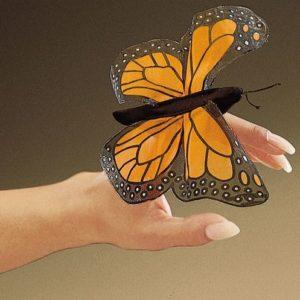 folkmanis Mini Butterfly Monarch puppet