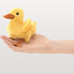 folkmanis Mini Duckling puppet