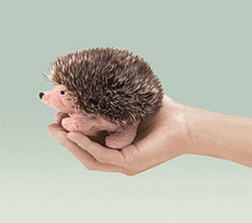 folkmanis Mini Hedgehog puppet
