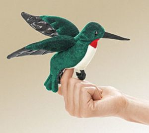 folkmanis Mini Hummingbird puppet