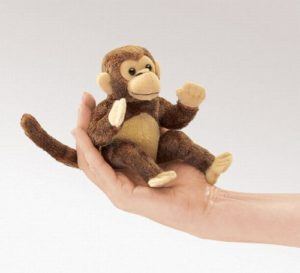 folkmanis Mini Monkey puppet