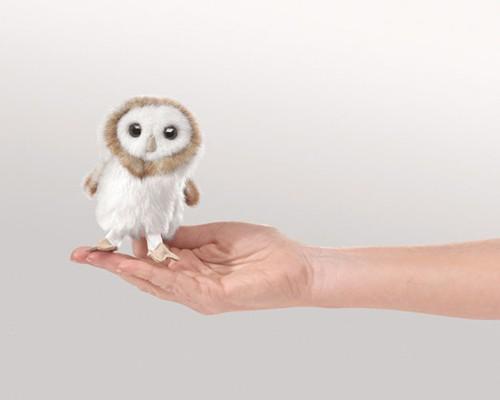 folkmanis Mini Owl Barnpuppet
