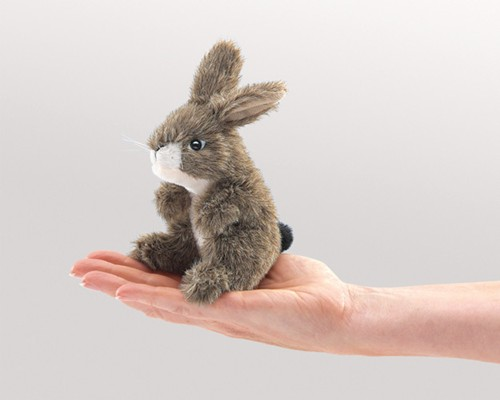 folkmanis Mini Rabbit Jack puppet