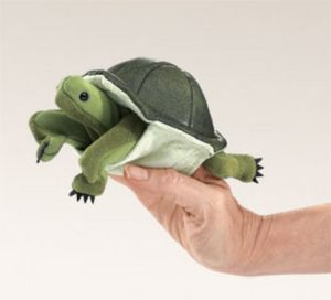 folkmanis Mini Turtle puppet
