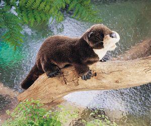 folkmanis Otter River puppet