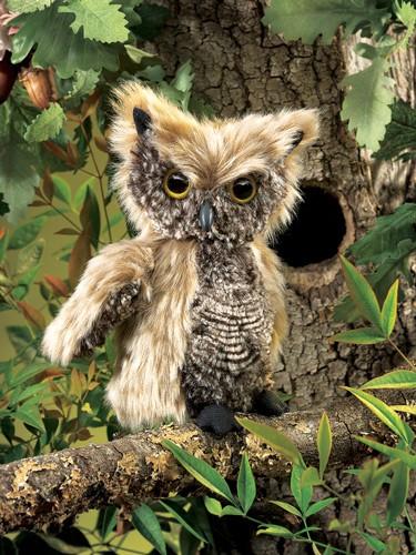 folkmanis Owl Screech puppet