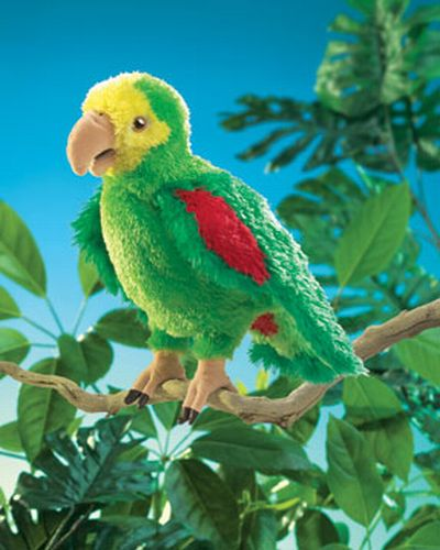 folkmanis Parrot Amazon puppet