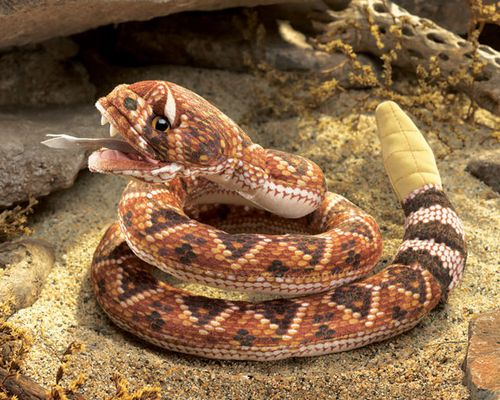 folkmanis Rattlesnake puppet