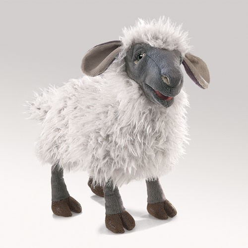folkmanis Sheep Bleating puppet