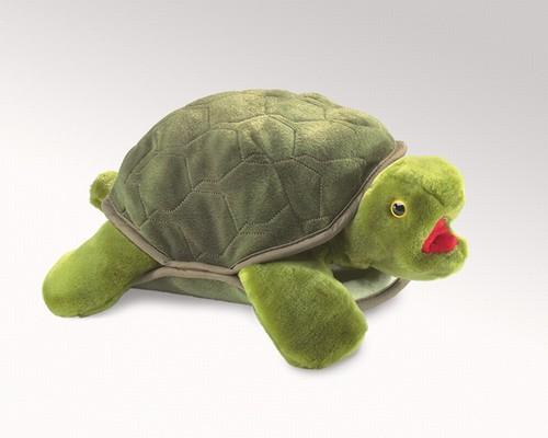 folkmanis Turtle puppet