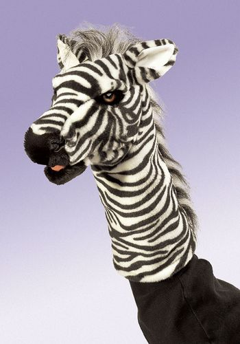 folkmanis Zebra Stage Puppet puppet