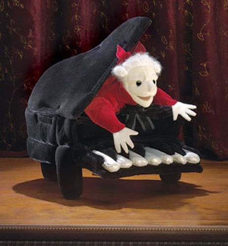 Folkmanis Mozart in Piano Puppet