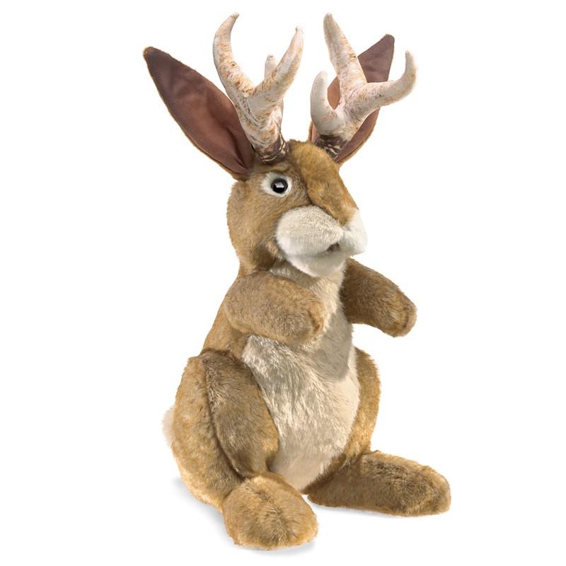 folkmanis jackalope puppet